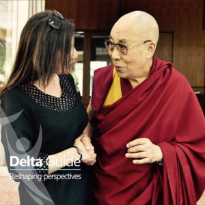 His Holiness the 14th Dalai Lama & Diana-Maria Georgescu